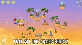 Angry Birds Rio получила 26 новых уровней и стала бесплатной