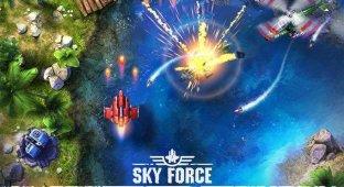 [App Store Preview] Sky Force Anniversary. Возрождение легенды