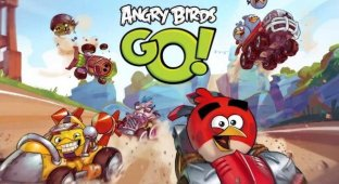 Вышла долгожданная Angry Birds Go!