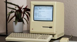 Энтузиаст настроил Интернет на 27-летнем Mac Plus [видео]