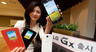 LG официально представила 5 5-дюймовый смартфон Gx