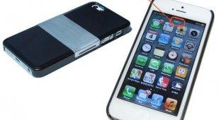 Чехол SIM+ защищает iPhone 5 от повреждений и позволяет использовать две SIM-карты