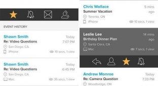 Приложение MailTracker позволяет узнать когда где и сколько раз прочитали ваше письмо