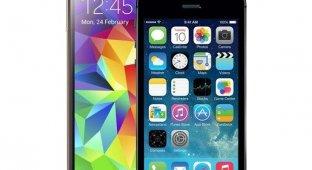 NYT: iPhone 5s лучше Samsung Galaxy S5 практически по всем важным параметрам
