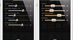 Виджет Volume Mixer позволяет управлять всеми аудиоканалами в iOS 7 [Cydia]