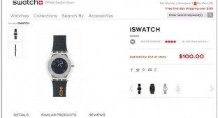 Швейцарская Swatch решила побороться с Apple за торговую марку iWatch