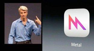 Технология Metal в iOS 8 до 10 раз увеличивает скорость прорисовки графики на iPhone и iPad