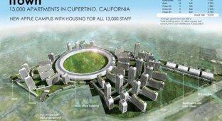 Дизайнер создал концепт города Apple [галерея]