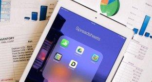 Лучшие iPad-приложения для работы с электронными таблицами