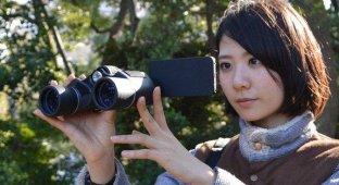 В Японии появился в продаже бинокль для iPhone [фото]