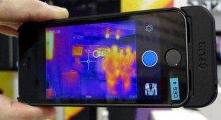iPhone снабдили тепловизионной камерой