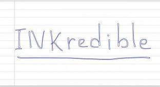 INKredible. Реальная замена ручке и бумаге