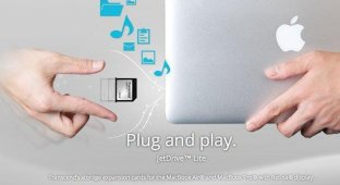 Transcend представила 128-гигабайтный модуль расширения памяти для MacBook Air и MacBook Pro [видео]