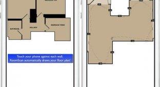 Просто приложи: RoomScan составит точный план квартиры с помощью iPhone и iPad [видео]