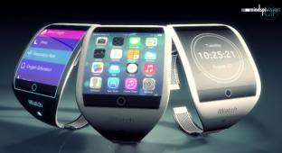 Смартфон на руке: концепт Apple iWatch