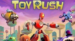 Toy Rush — помесь трех игровых жанров