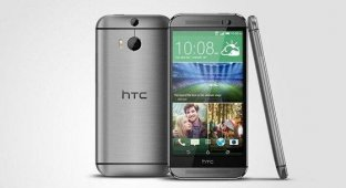 HTC официально представила свой новый флагман HTC One (M8) [видео]