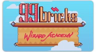 99 Bricks Wizard Academy. Магический тетрис