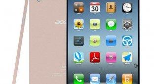 Китайцы выпустили 8-дюймовый клон золотого iPhone 5s за $130