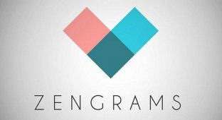 [App Store + HD] Zengrams — качественная головоломка от Gameblyr