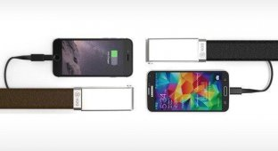 Будущее носимой электроники: британцы разработали ремень с аккумулятором для зарядки смартфонов [видео]