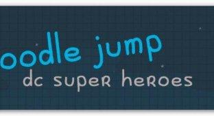 Doodle Jump DC Super Heroes. В костюме Бэтмена