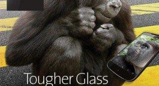 Corning представила сверхпрочное стекло Gorilla Glass 4 [видео]
