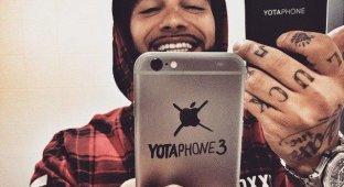 Тимати объяснил, почему использует «непатриотичный» iPhone 6 вместо YotaPhone